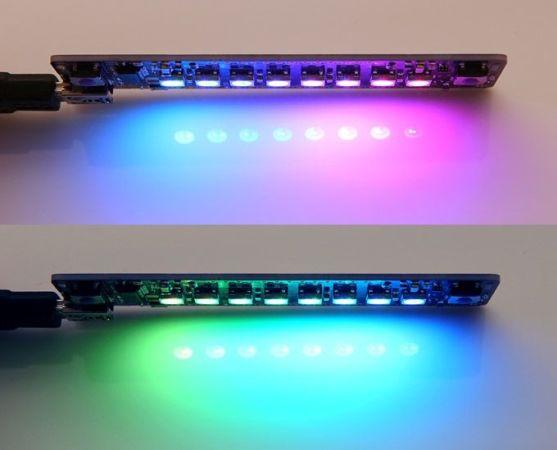 plumduino 557x450 - Plumduino, una placa de LEDs programable para tus proyectos con Arduino
