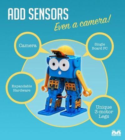 marty-400x450 Marty, un simpático robot para niños, profesores y makers