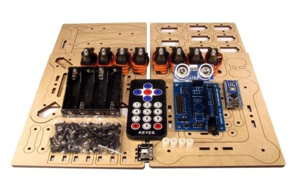 meped2 MePed, kit compatible con Arduino para construir tu propio robot