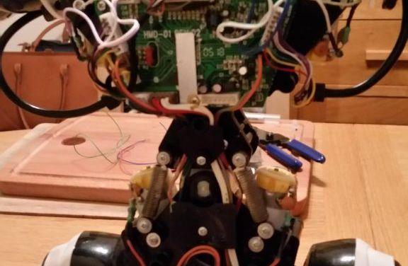 Dale más potencia a un robot de juguete con la Raspberry Pi Zero