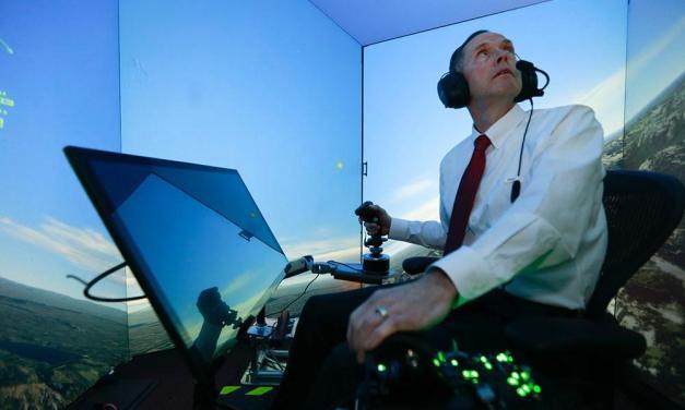 IA basada en la Raspberry Pi como simulador de vuelo de combate