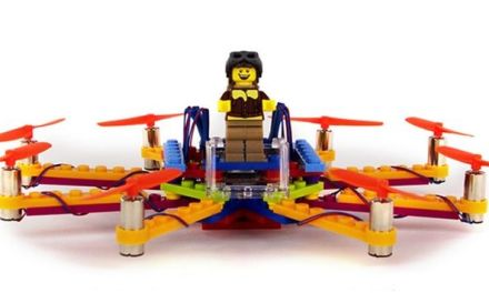 Flybrix, fabrica tu propio drone con piezas de LEGO