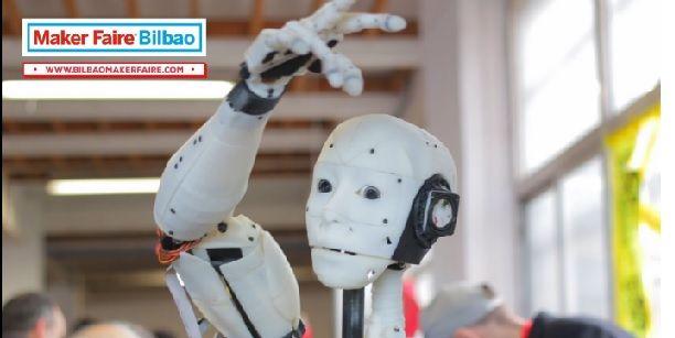 robotbmf Seguimos con el otoño maker, esta vez le toca a la Bilbao Maker Faire 2016