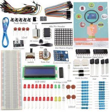 surmoman-kit Ofertas Black Friday en Arduino, Raspberry Pi, Drones y robots