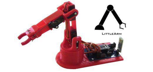 LittleArm 2C1 - LittleArm 2C, un mini brazo robot para educación y para makers