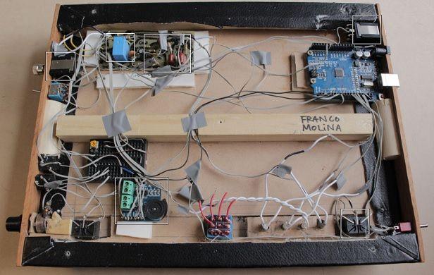 amplificador2 - Controla el amplificador de tu guitarra eléctrica con Arduino