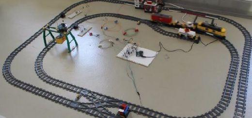 tren de LEGO