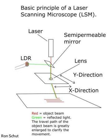 microscopio laser1 348x450 - Construye un microscopio láser totalmente funcional con Arduino