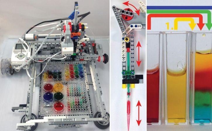 robot laboratorio 725x450 - Estudiantes construyen un laboratorio robotizado con LEGO