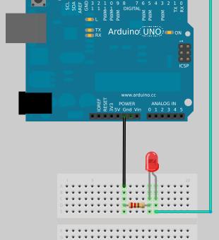 morse - Vamos a construir un sencillo emisor morse con nuestra placa