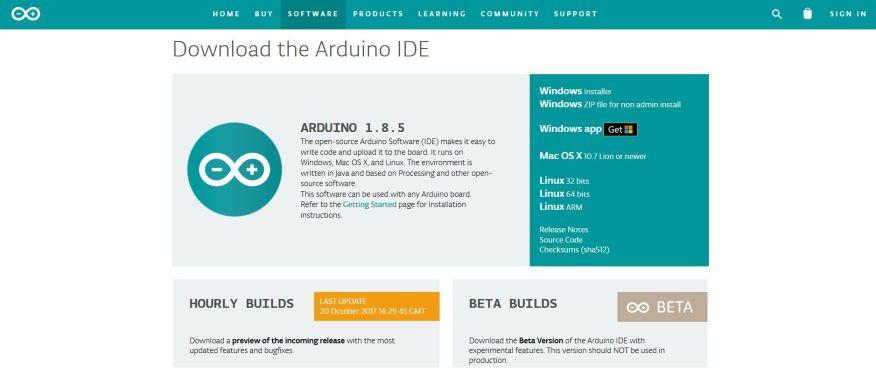 download arduino IDE - Cómo instalar Arduino y el IDE en nuestro ordenador