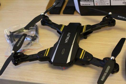 drone vitality - TKKJ TK116 Vitality, un drone muy completo a muy buen precio, análisis