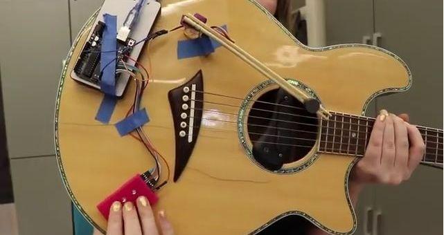 guitarra arduino