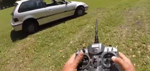 control remoto para coche
