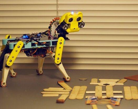gato robot2 - Opencat, un gato robot para enseñar a los niños robótica