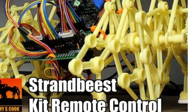 Fabrica un Strandbeest con control remoto y Arduino Nano