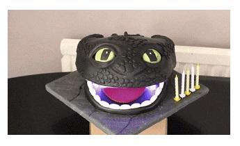 desdentao - Desdentao, construye un robot de chocolate del dragón de la peli