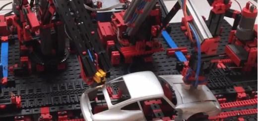 factoría robot