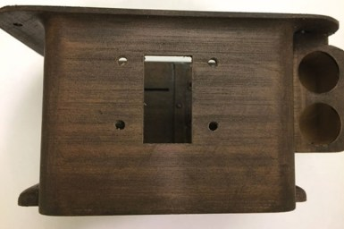 carcasa madera fantasmas - Cómo fabricar un detector de Fantasmas con Raspberry Pi y Arduino