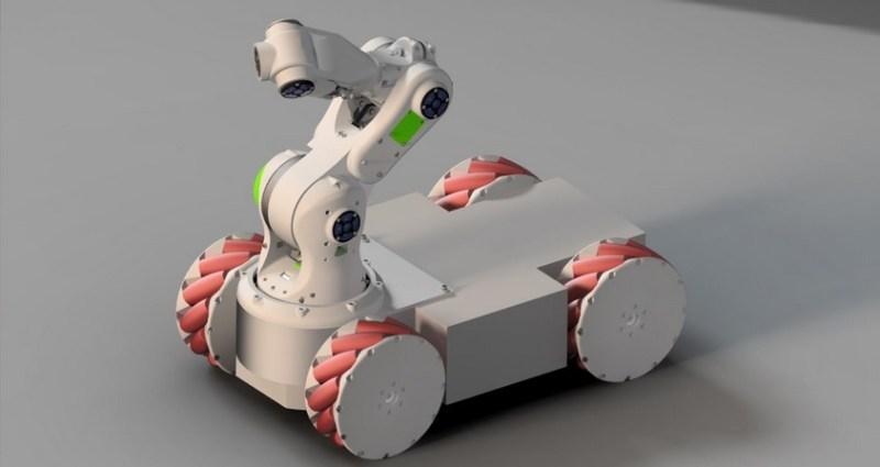 Brazo robot imprimible en 3D