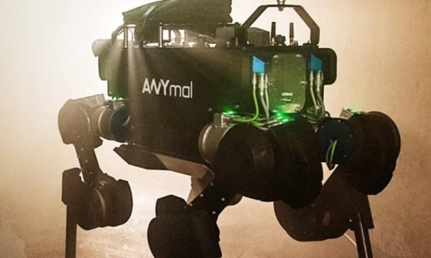 ANYmal, un robot cuadrúpedo que se adapta a todas las situaciones