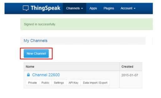 crear canal en thingspeak - ThingSpeak, plataforma gratuita para la Internet de las Cosas