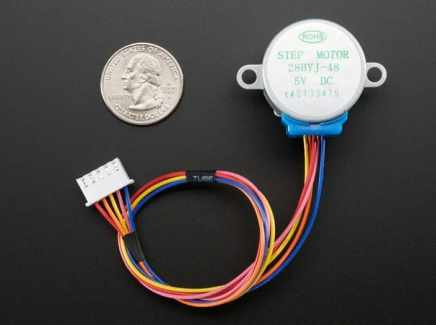 Adafruit Small Reduction Stepper Motor