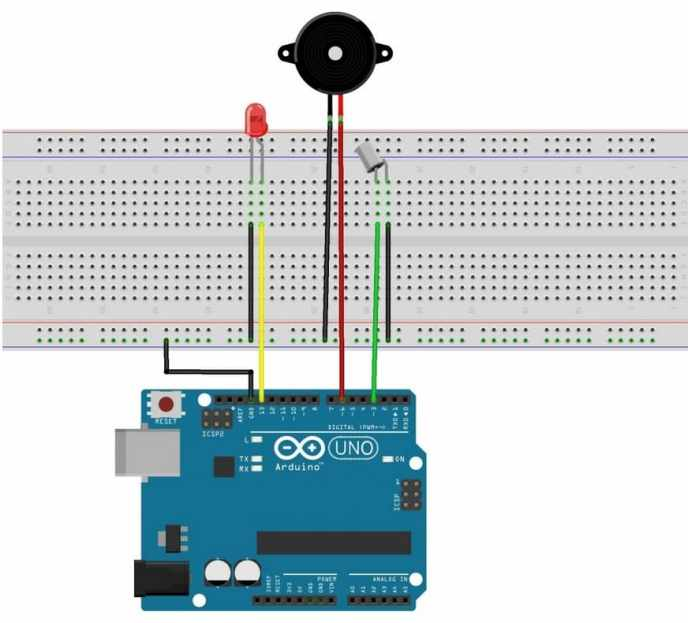 tilt sensor con Arduino