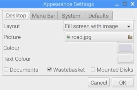 configuracion escritorio raspberry pi - ¿Cómo cambiar la apariencia del escritorio en Raspberry Pi?