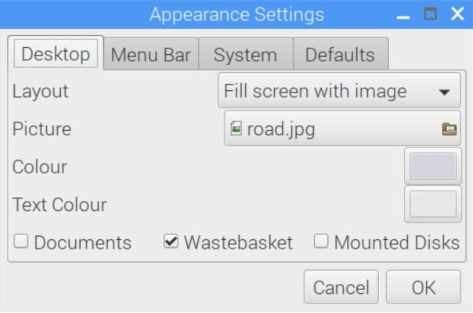 configuracion escritorio raspberry pi
