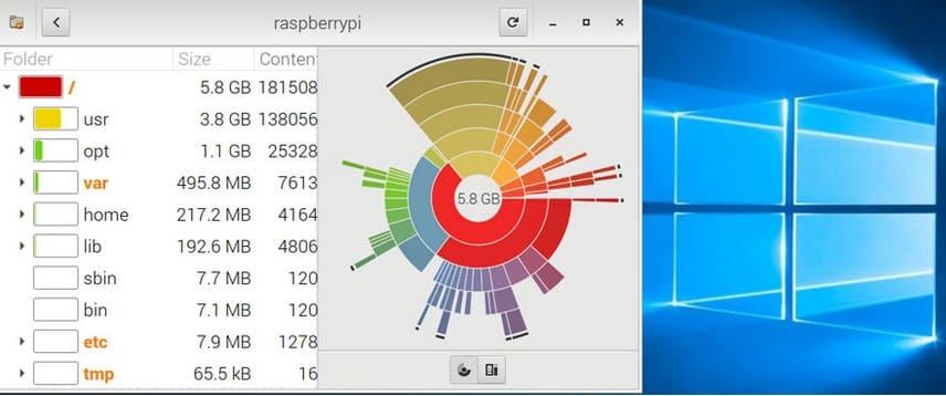 raspberry Pi disk manager