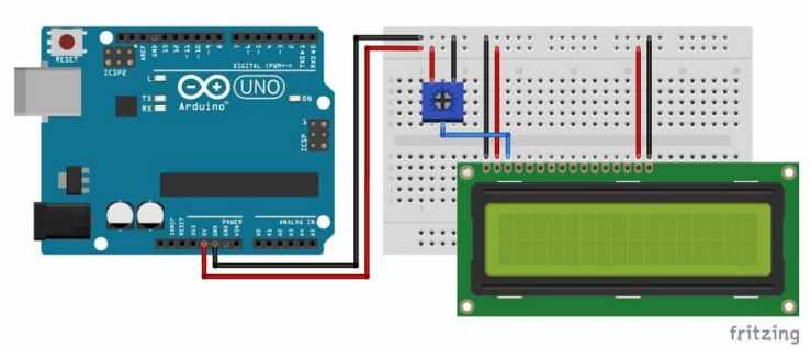 pantalla lcd conectada a Arduino - Cómo usar un LCD de 16×2 caracteres con Arduino