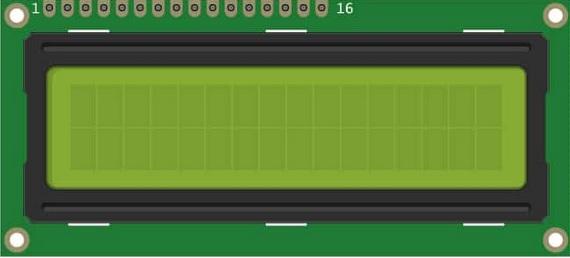 pinout pantalla lcd - Electrogeek