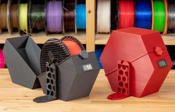 cajas para filamentos de impresion 3d