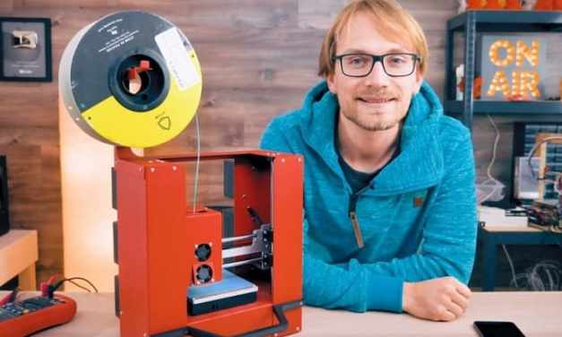 La impresora 3D de sobremesa se vuelve portátil con la ayuda de Raspberry Pi