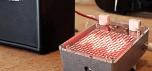 arduino audio meter
