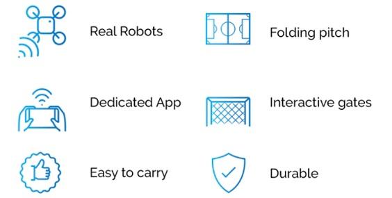 características de robosoccer