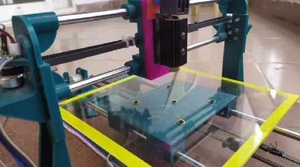 plotter y grabador Laser Arduino