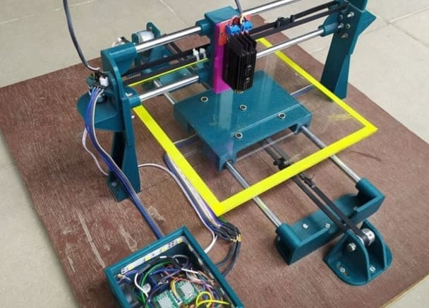 plotter y grabador Laser DIY