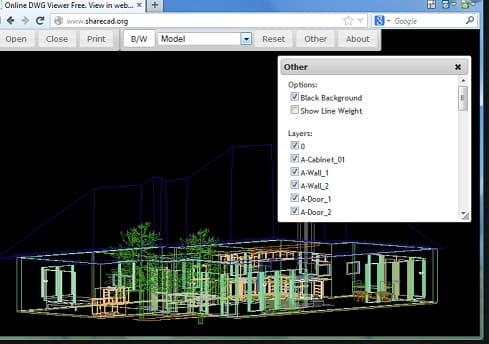 sharecad - Visor DWG, Los 8 mejores programas de software gratis para ver archivos de AutoCad