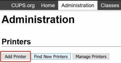 añadir impresora en CUPS - Cómo añadir una impresora a tu Raspberry Pi en Raspbian (CUPS)