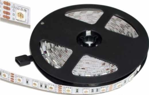bobina leds - Cómo construir un controlador de tiras LED RGB usando ESP8266