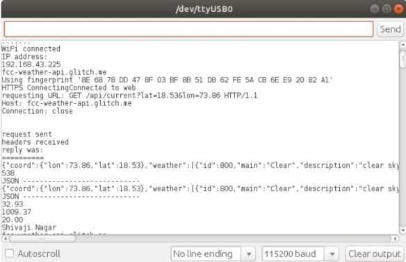 datos de estacion meteorológica - Cómo construir una Estación meteorológica con ESP8266 usando el IDE de Arduino