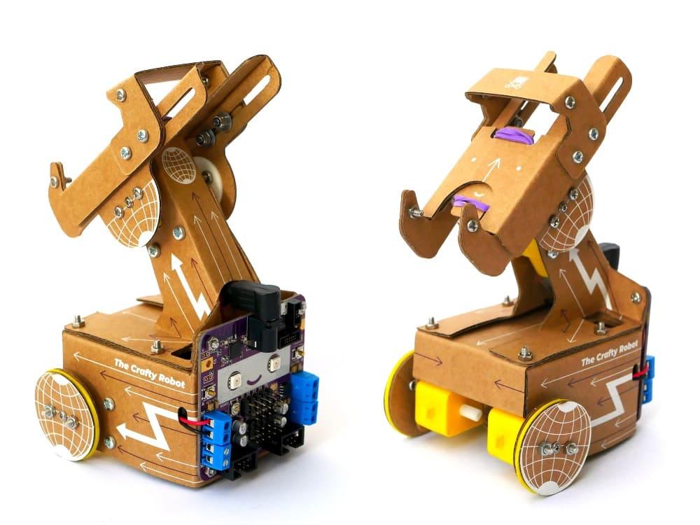 Smartipresence móvil - Un mini robot de telepresencia de cartón puede ser controlado por videollamadas