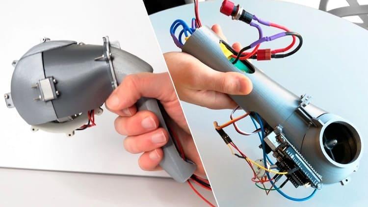 guia robot para ciegos - Dispositivo de movilidad para ciegos que funciona como un perro guía robótico de mano
