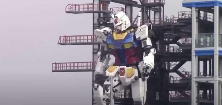 Gundam, los primeros pasos del robot humanoide de dibujos animados japonés