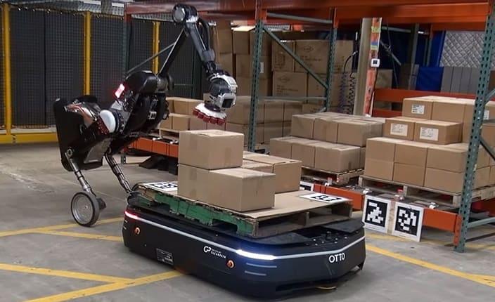 robots boston dinamics - Boston Dynamics quiere especializar sus robots para la logística