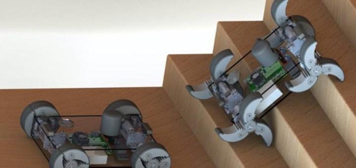 El robot α-WaLTR tendrá ruedas que se doblan como patas