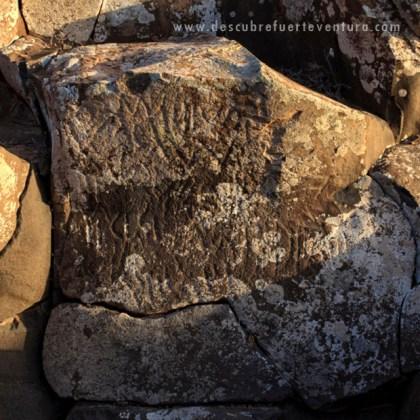 Grabados rupestres del Barranco del Cavadero
