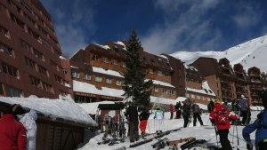 La estación de esquí deAstún